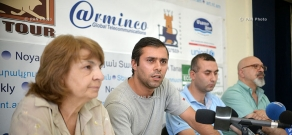 Press conference of representatives of 'Founding Parliament', 'Armenian National Congress' and 'I Am Against initiatives