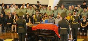 Colonel-General Gurgen Dalibaltayan lies in state