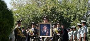 Funeral of Colonel-General Gurgen Dalibaltayan
