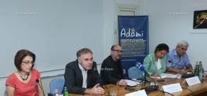 Press conference of Harutyun Khachatryan, Siranuish Galstyan, Stepan Grigoryan and Nadia Lichtenstein