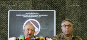 Press conference of deputy chief of General Staff of Armenia Movses Hakobyan