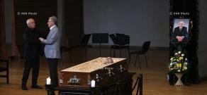 Funeral of Armenian benefactor Vahak Hovnanian