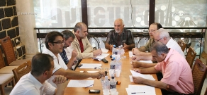 Discussion on the project of formation of a united opposition front