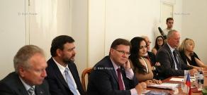 Czechia Senate President-headed delegation visits Armenia's Chamber of Commerce and Industry