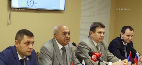 Armenia-Russia partnership business meeting