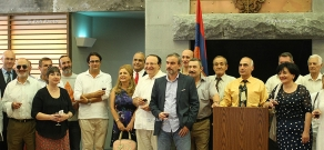 Founding Parliament organized a reception to mark Independence Day of Armenia