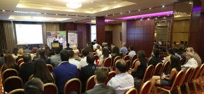 One-day business conference on franchise business opportunities, organized by U.S. Embassy in RA, U.S. Commercial Service in Moscow, in partnership with Ameria Management Advisory Services