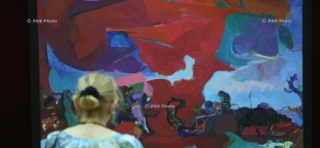 Hovhannes Zardaryan's exhibition entitled 'Exodus' opens  National Gallery of Armenia