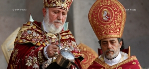 Blessing of the Holy Chrism (myron) at the Mother See of Holy Etchmiadzin, which occurs once every 7 years