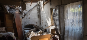 Berdavan village of Tavush Province shelled by Azerbaijan