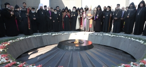 Prayer Service at the Armenian Genocide Museum-Institute