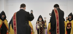 Opening of Karkein I educational centre in neighborhood of Mother See of Holy Etchmiadzin