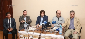 Press conference with the participation of the Borodin Quartet