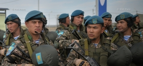 'Indestructible Brotherhood 2015' military exercises of CSTO Collective Peacekeeping Forces launch in Armenia