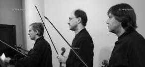 Borodin Quartet in Yerevan: Backstage and concert