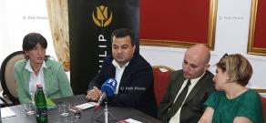 Press conference on Areni Wine Festival 2015