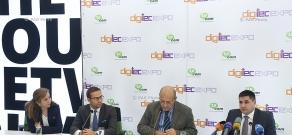 Press conference of Karen Vardanyan, Hayk Yesayan and Kirill Morozov