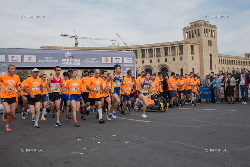 Yerevan RUNARM 2015 International Half Marathon