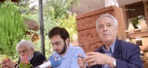 Press conference on Apricot Tree International Ethnofilm Festival