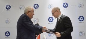 Armenia and Russia signed an intergovernmental agreement on nuclear safety