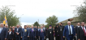 Festive events dedicated to the 2700th anniversary of Echmiadzin