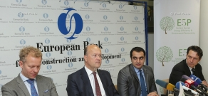 EBRD news conference on €1.9 million co-financing grant