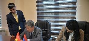 Minister of Justice of Armenia and Vietnam Arpine Hovhannisyan and Ha Hung Cuong signed memorandum of understanding