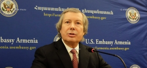Press conference of SCE Minsk Group U.S. Co-chair James Warlick