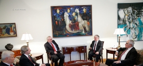 RA Minister of Foreign Affairs Edward Nalbandyan receives OSCE Minsk Group Co-Chairs