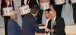 Ceremony of handing prizes for the best works, organized by the Union of Armenians of Russia