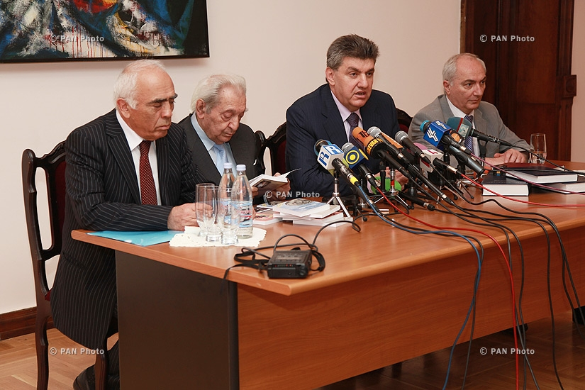 Press conference of the head of the Union of Armenians of Russia and World Armenian Congress Ara Abrahamyan