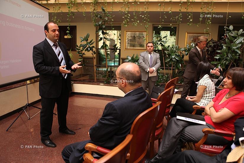 Մեկնարկել է հայ-բելգիական բիզնես-ֆորումը