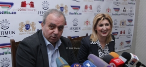 Press conference ofHrant Bagratyan,  Deputy of the National Assembly of Armenian