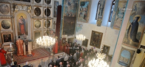 Re-consecration ceremony of Armenian Cathedral of St George in Tbilisi