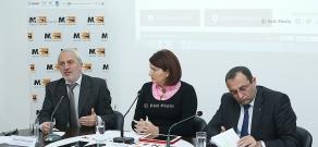 Press conference of Aram Manukyan (ANC) and Artsvik Minasyan (ARF Dashnaktsutyun)