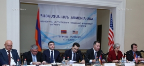First session of the Armenian-US Council on Trade and Investment