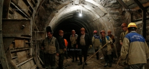 Arpa-Sevan Tunnel Reconstruction works and  Kechut Reservoir