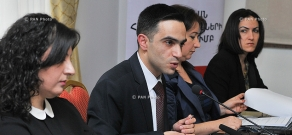 Presentation of the results of quantitative research on Armenia constitutional amendments