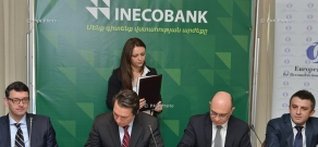 The International Finance Corporation (IFC) and Inecobank CJSC sign a loan agreement