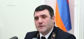 Press conference of Prosecutor General of Armenia Gevorg Kostanyan
