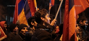 """""""New Armenia"""" Public Salvation Front's rally against constitutional amendments: Day 8"""