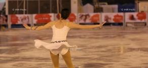 Opening of Swan Lake skating - rink