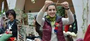 Christmas charity fair  in Yerevan Municipality