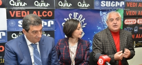 Press conference of Vardan Ayvazyan (RPA) and former member of the Supreme Council Azat Arshakyan