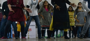 Yerevan Metro hosts event dedicated to Indian culture