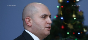 Year-end press conference of Armenian Minister of Education and Science Armen Ashotyan
