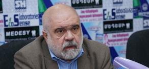 Press conference of the head of Caucasus Institute, political scientist Alexander Iskandaryan