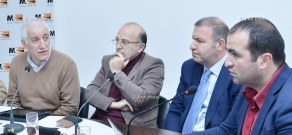 Discussion on Armenia's Economy and Global Challenges in 2015