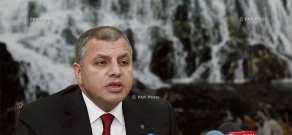 Year-end press conference of RA Minister of Nature Protection Aramayis Grigoryan