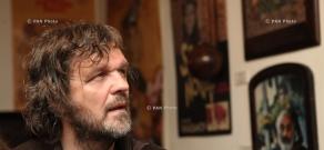 Serbian director and musician Emir Kusturica visits Sergej Parajanov Museum in Yerevan